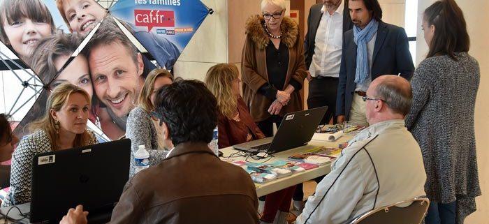 Emploi des bénéficiaires du RSA _ ©D Chauveau
