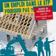 Le 20 févirer à Chécy : les rencontres du bâtiment 2018