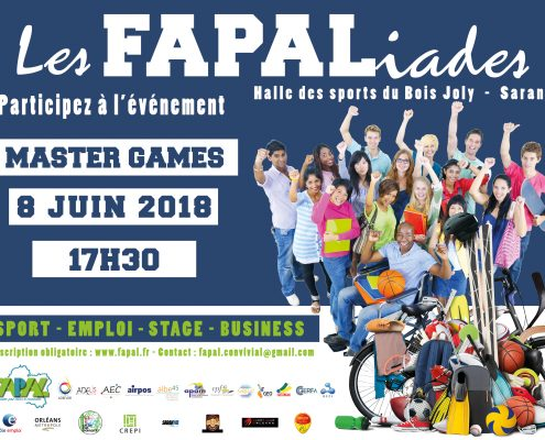 FAPALIADES Master Games 2018
