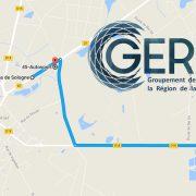 Visite d'entreprises à Jouy-le-Potier avec le GERFA.