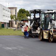 Remise en état du plateau sportif du collège Montjoie à Saran - ©D Chauveau