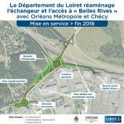 Travaux sur l'échangeur RD2060/RD8 : des travaux importants pour améliorer la circulation